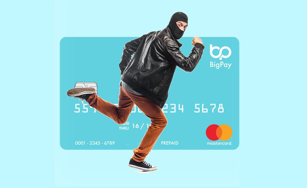 kad debit bigpay hilang curi